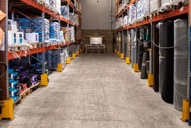 Extensive Warehouse Facility
