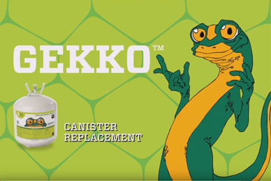 Gekko Canister Replacement